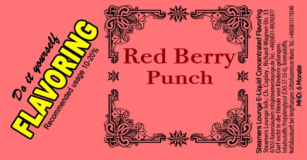 Red Berry Punch Aroma