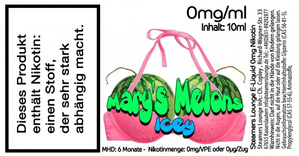 Marys Icey Melons