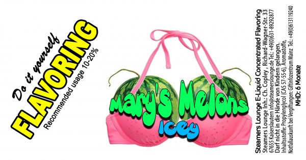 Marys Icey Melons Aroma