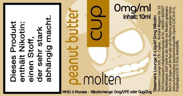 Molten Peanut Butter Cup
