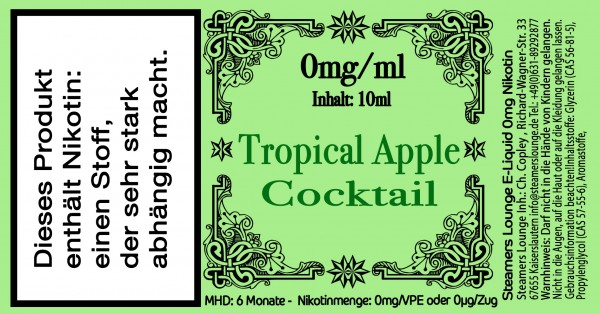 Tropical Apple Coctail