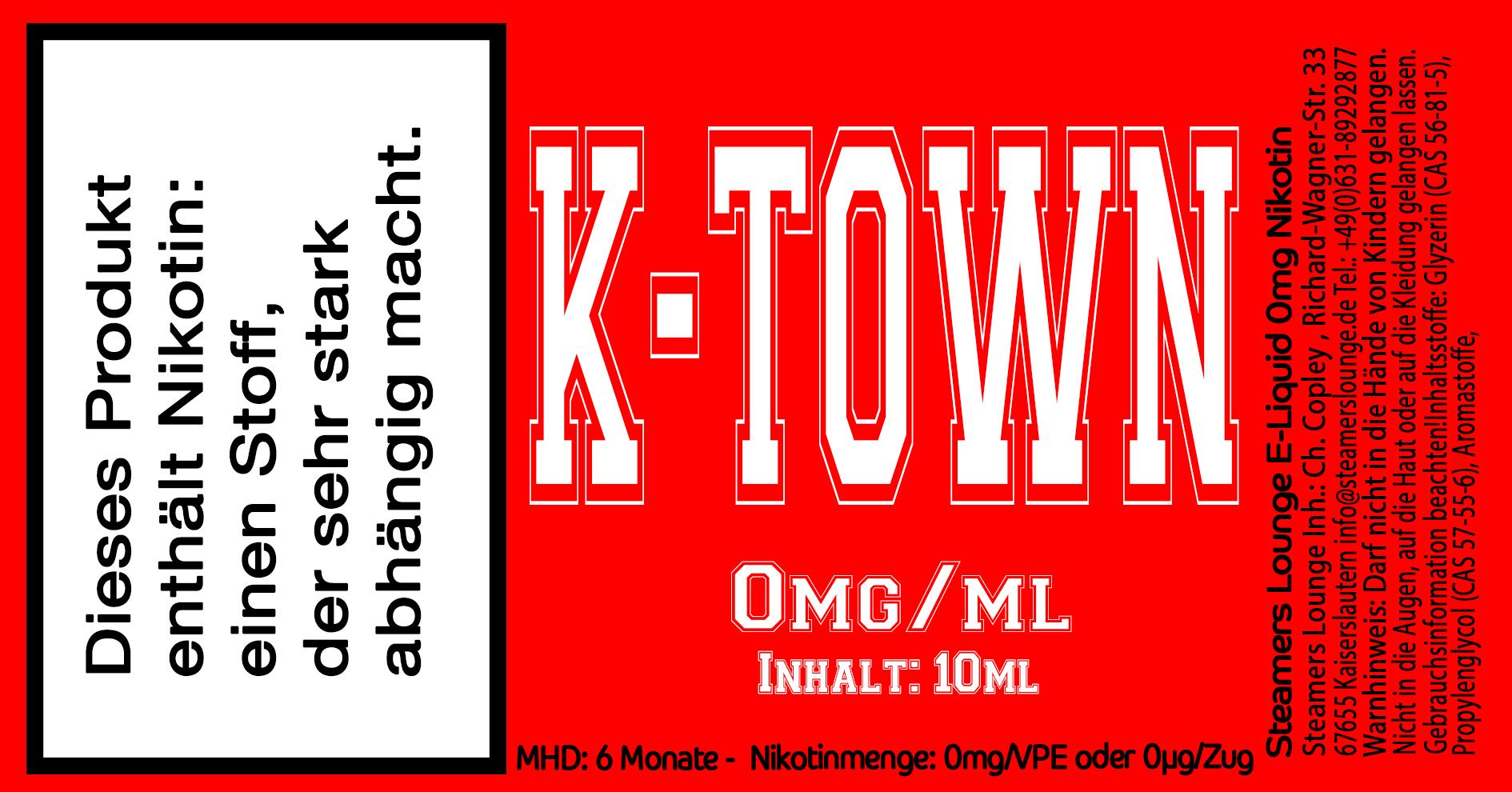 K Town Liquid Steamers Lounge