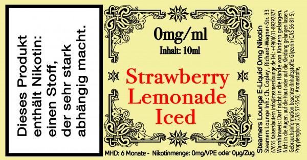 Strawberry Lemonade Iced