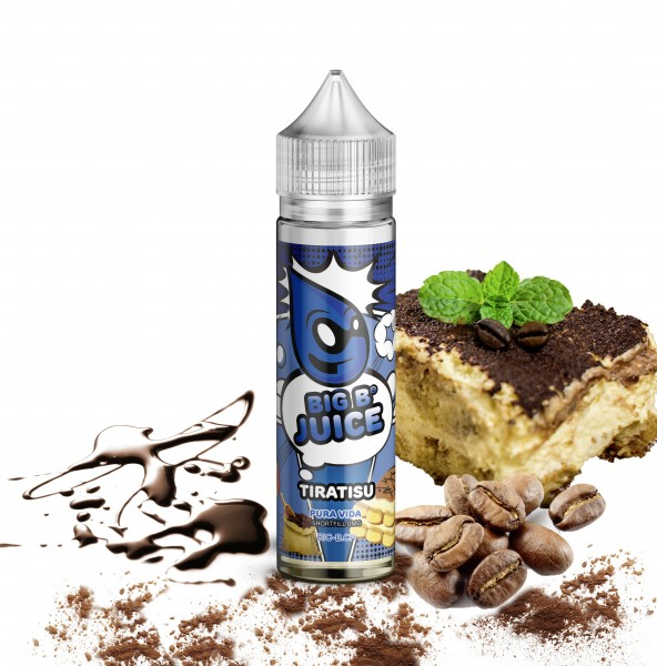 BIG B Juice Pura Vida Line Tiratisu 50ml