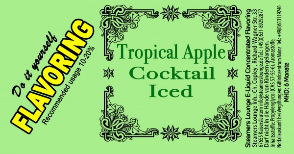 Tropical Apple Coctail Iced Aroma