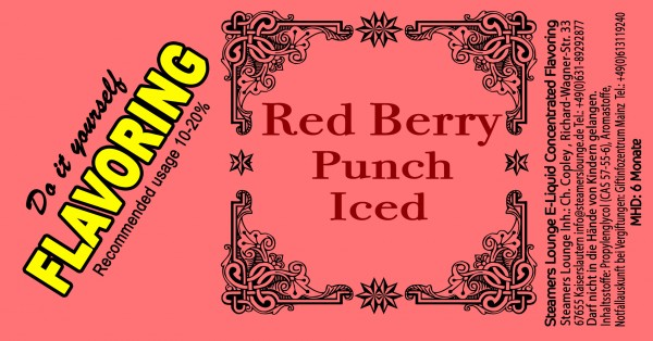 Red Berry Punch Iced Aroma