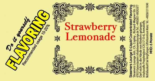 Strawberry Lemonade Aroma
