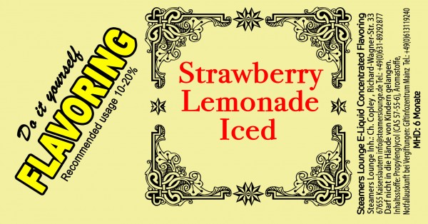 Strawberry Lemonade Iced Aroma