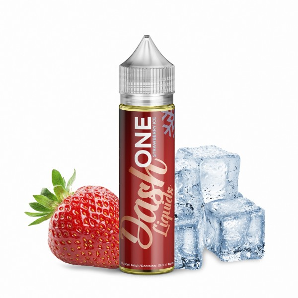Dash One Strawberry ICE -- ONE Flavor-ONE Taste-ONE Choice