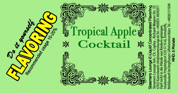 Tropical Apple Coctail Aroma